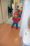 Spider man impression