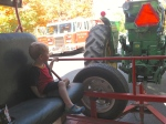 Tractor ride around historic town of Boalsburg