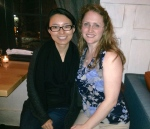 Dinner in DC with Yu Lu, after a work conference :)  I love catching up with good friends.