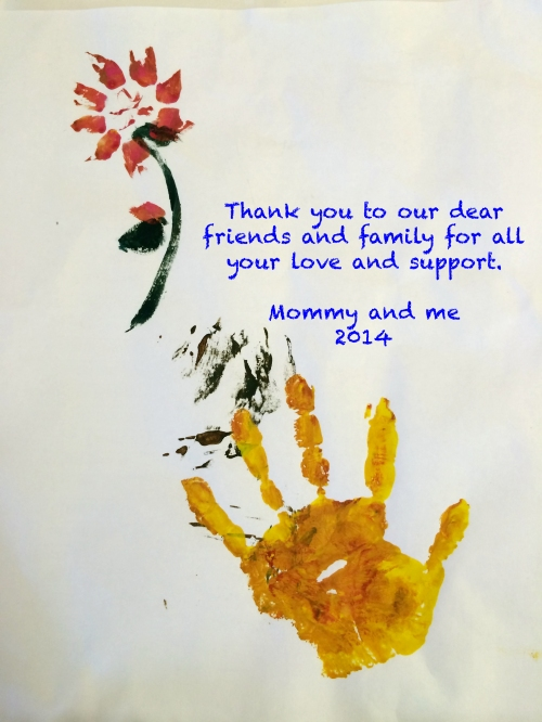 Thank You Painting 2