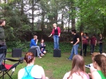Improv with a few friends - Last troop show...