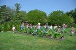 The children's garden was fun too