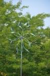 A cool wind sculpture in the Dow Gardens