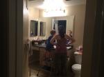 Brushing teeth time