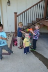 Fun with the bubble gun From Tom and Julie