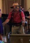 Grandpa Gerald having fun at church
