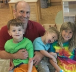 The North clan: Bob, Gian, Davis, and Anna