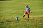 First soccer practice
