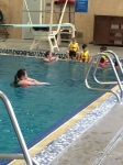 Swimming lessons. Thanks Aunt Laura and Uncle Sean!