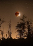 The recent eclipse taken by a friend