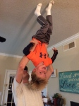 Walking on the ceiling