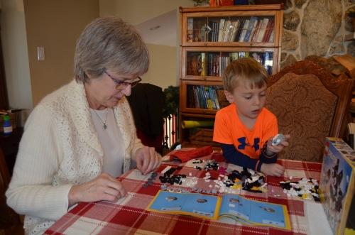 Grandma Lil and B