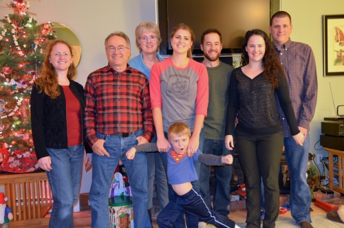 Christmas with Dad and Lil, Laura and Sean, Sascha and Steph, B and I :)
