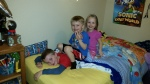 Even the kids enjoyed Jeremy's birthday party, and played in B's room with constant laughter for almost 4 hours. Yeah!